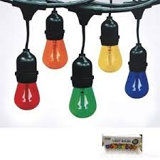 60 pack feit electric assorted colors light bulbs for signs string