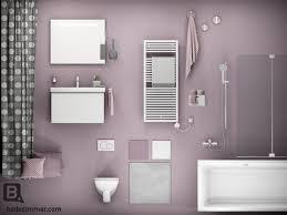 mädchentraum in rosa badezimmer