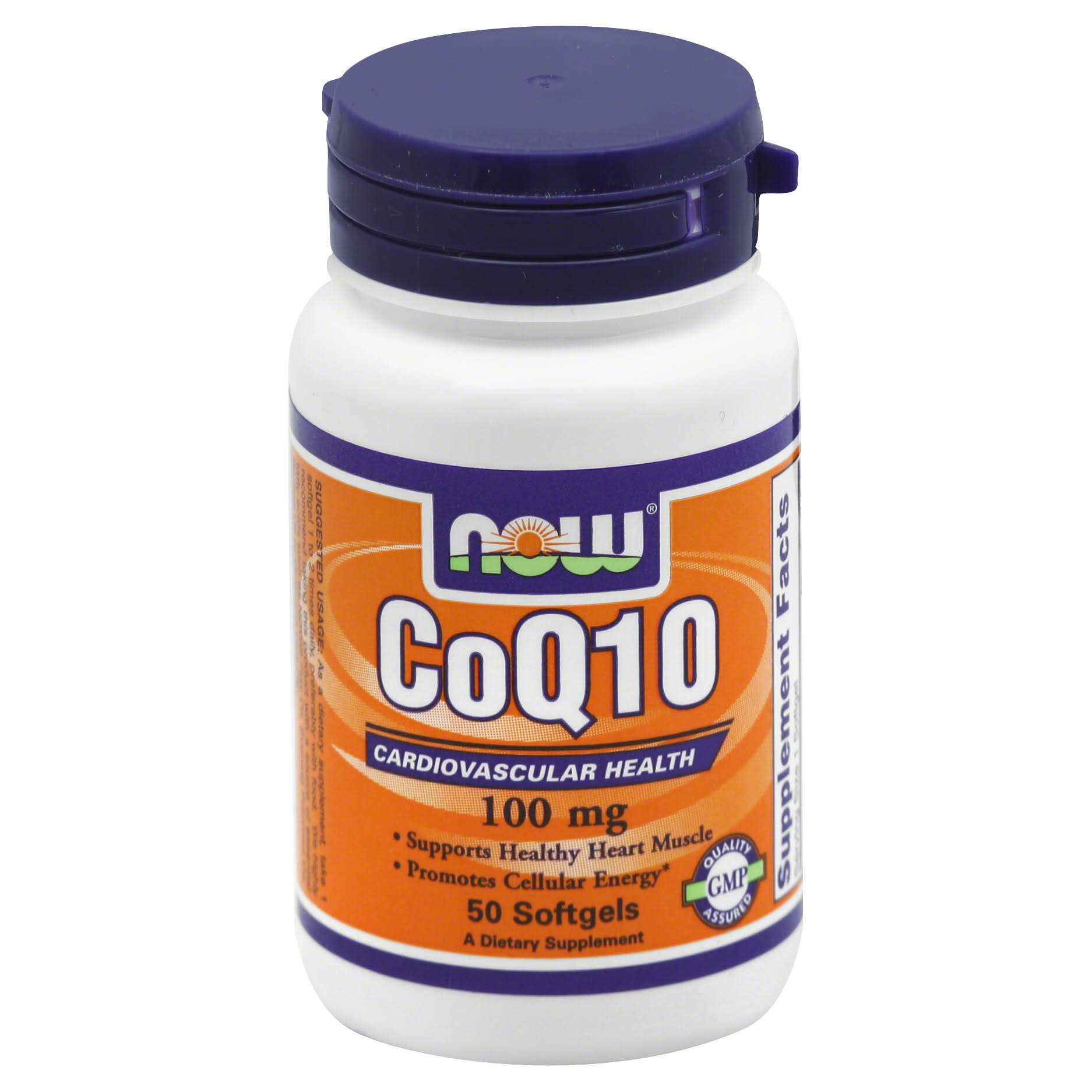 Now Foods - Coq10 - 100mg, 50 Softgels