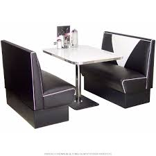 Diner Booth Set VBack Style In 2019 Cool Retro Furniture Rooms