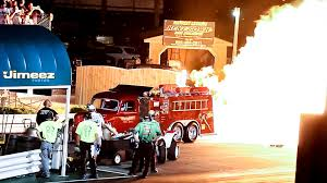 FIRE BREATHING 25,000HP! TWIN JET ENGINE '40 FORD FIRE TRUCK AT '14 ...