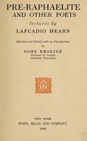 PRE RAPHAELITE AND OTHER POETS Lectures By