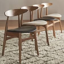 100 2 Chairs For Bedroom Html Shop Norwegian Danish Tapered Dining Set Of By INSPIRE Q