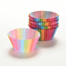 Image Is Loading Cupcake Liner Baking Rainbow Cup Paper Muffin Case