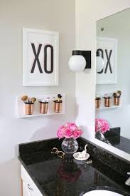 Black,+White,+and+Gold+Bathroom+Decor+Ideas   For The Home ... Home Ideas Black And White Bathroom Wall Decor Superbpretbhroomiasecccstyleggeousdecorating Teal Gray Design With Trendy Tile Aricherlife Tiles View In Gallery Smart Combination Of Prestigious At Modern Installed And Knowwherecoffee Blog Best 15 Set Royal Club Piece Ceramic Bath Brilliant Innovative On Interior