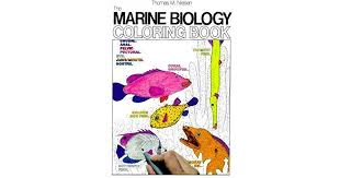The Marine Biology Coloring Book By Thomas M Niesen