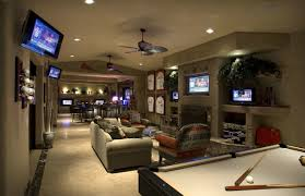 Stylish Game Room Design Idea Nice Of Picture In Home Best ...