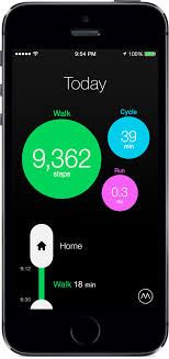 Moves Activity Diary for iPhone and Android