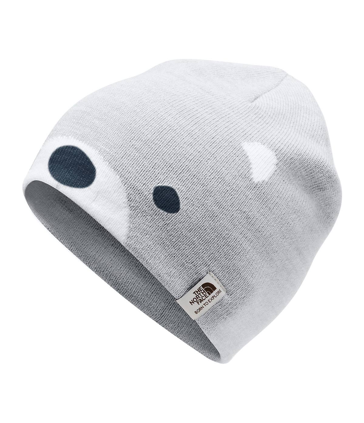 The North Face Baby Friendly Faces Beanie TNF Light Grey Heather / XXS