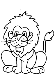 Animated Coloring Pages Lion Image 0015