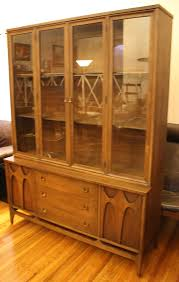 Broyhill Brasilia Dresser With Mirror by Broyhill Brasilia Dining Set And China Cabinet Picked Vintage