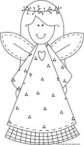 Angel Colouring Pages 19 Coloring For Preschool