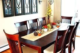 Dining Table Decorating Ideas Arrangement Glass Top Decoration