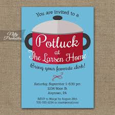 Halloween Potluck Invitation Template Free Printable by 9 Potluck Invitations Printable Psd Vector Eps Format