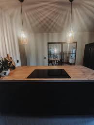 herbst küche len kücheninsel ohne abzugshaube