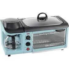 Image Is Loading Nostalgia Retro Series 4 Slice Toaster Oven Blue