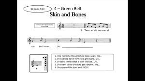 Shake Dem Halloween Bones Lesson by 4a Skin And Bones Recorder Youtube