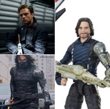 Infinity War Buckys Look Is A Combination Of The First Avenger And Winter Soldier