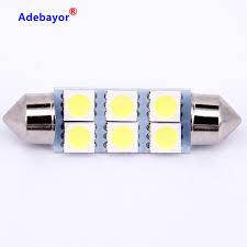 Aliexpress Buy 2 X31mm 36mm 39mm 41mm 5050 SMD 6 LED Festoon