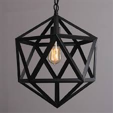 Wrought Iron Loft Lamp Industrial Pendant Light Moroccan Rustic Vintage Fixtures For Living Room Home Indoor Lighting In Lights From