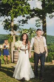 Rustic White Wedding Dresses