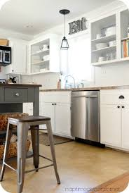 What A Difference Simple Trim Makes To Kitchen Cabinets