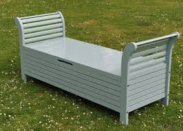 Plastic Garden Storage Bench Seat by Awesome Storage Bench Garden Outdoor Storage Bench Patio Seat