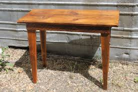 A Small Davemade Table Constructed From 1864 Aldrich Barn Wood