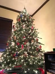 Martha Stewart Pre Lit Christmas Tree Instructions by Martha Stewart Christmas Trees Christmas Lights Decoration