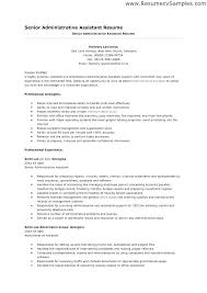 Resume Templates For Administrative Assistant Free Professional