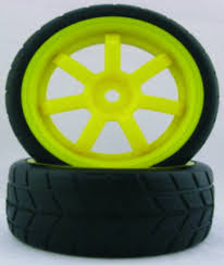 1/10th On-Road RC Car Rims + Racing Grip Tire Sets (2PCS Yellow) Tireswheels Cars Trucks Hobbytown 110th Onroad Rc Car Rims Racing Grip Tire Sets 2pcs Yellow 12v Ride On Kids Remote Control Electric Battery Power 4 Pcs 110 Tires And Wheels 12mm Hex Rc Rally Off Road Louise Scuphill Short Course Truck How To Rit Dye Or Parts Club Youtube Scale 22 Alinum With Rock For Team Losi 22sct Review Driver Best Choice Products 112 24ghz R Mad Max 8 Spoke Giant Monster Tyres Set Black Mud Slingers Size 40 Series 38 Adventures Gmade Air Filled Widow Custom