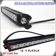 thin led light bar 50 for atv suv 4wd jeep wrangler rubicon