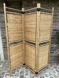 deko paravents aus bambus fürs wohnzimmer günstig kaufen ebay
