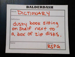 Game Terms Dictionary They Arent All Balderdash