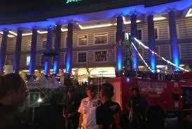 Kebakaran Terjadi Di Jogja City Mall DIY Rabu 27 9 Malam