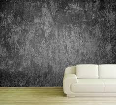 vlies tapete poster fototapete muster beton schwarz grau