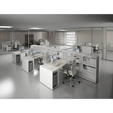 bureau des postes bureau compact asymétrique 4line mobilier de bureau