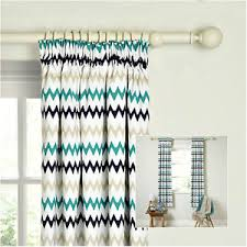 Teal Blackout Curtains Pencil Pleat by Pair Of Curtains Robotica Zig Zag Blackout Curtain Pencil Pleat