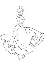 Cinderela Books Coloring Pages