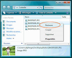 comment remettre la corbeille sur le bureau windows 7 la corbeille windows