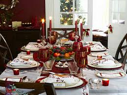 decoration christmas dining room table decorations interior