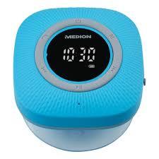 medion p66096 duschradio led display ukw radio ipx6 schutz bluetooth 5 0 30 w ausgangsleistung