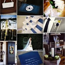 Navy Blue Brown A Little Rustic And Nice For Fall Winter Wedding