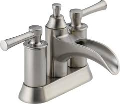 delta dawson two handle centerset bathroom faucet at menards