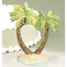Beach Wedding Cake Topper Image Of Tropical Toppers Sale