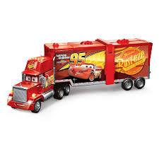 100 Lightning Mcqueen Truck Disney Pixar Cars Super Track Mack Playset Transforming With