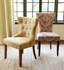 Great Design Pier 1 Hourglass Gold Damask And Carmilla Red Dining Chairs