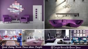 Good Living Room Decor Ideas Purple