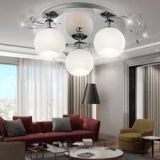 deckenleuchte glas deckenle beleuchtung wohnzimmer le leuchte licht esto aris 80100 3