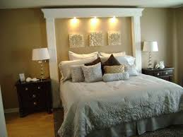 Now Updated And Luxorious King Size Bed With Custom Build In Headboard Bedrooms Design